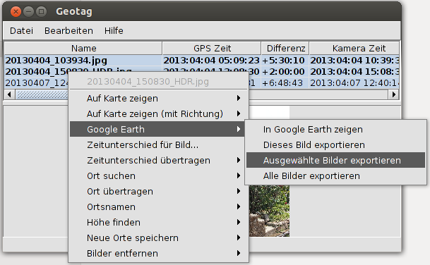 EXIF to KML with Geotag for OpenStreetMap in WordPress
